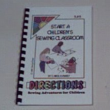 Start A Children's Sewing Classroom Ebook